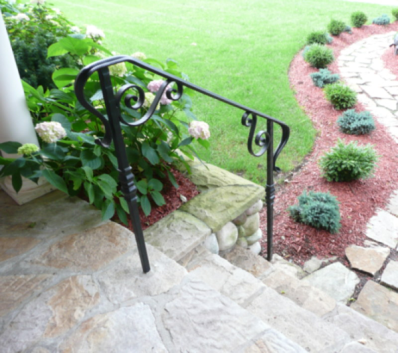 Decorative Wrought Iron Fence Custom Gates Balconies And Fireplaces Fences Metal Works For New Jersey